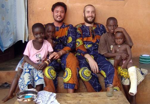 Dennis in Benin
