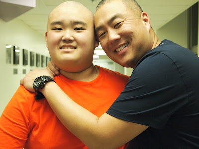 Andrew Park and his Dad