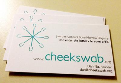 Cheekswab Business Cards