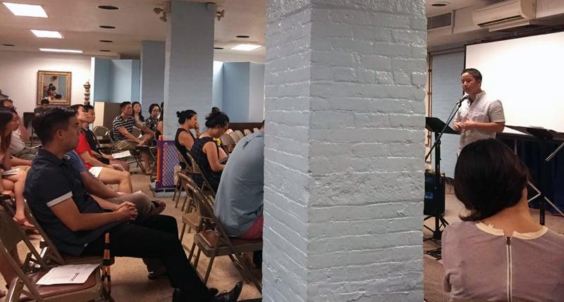 Dan speaking at GNC NYC
